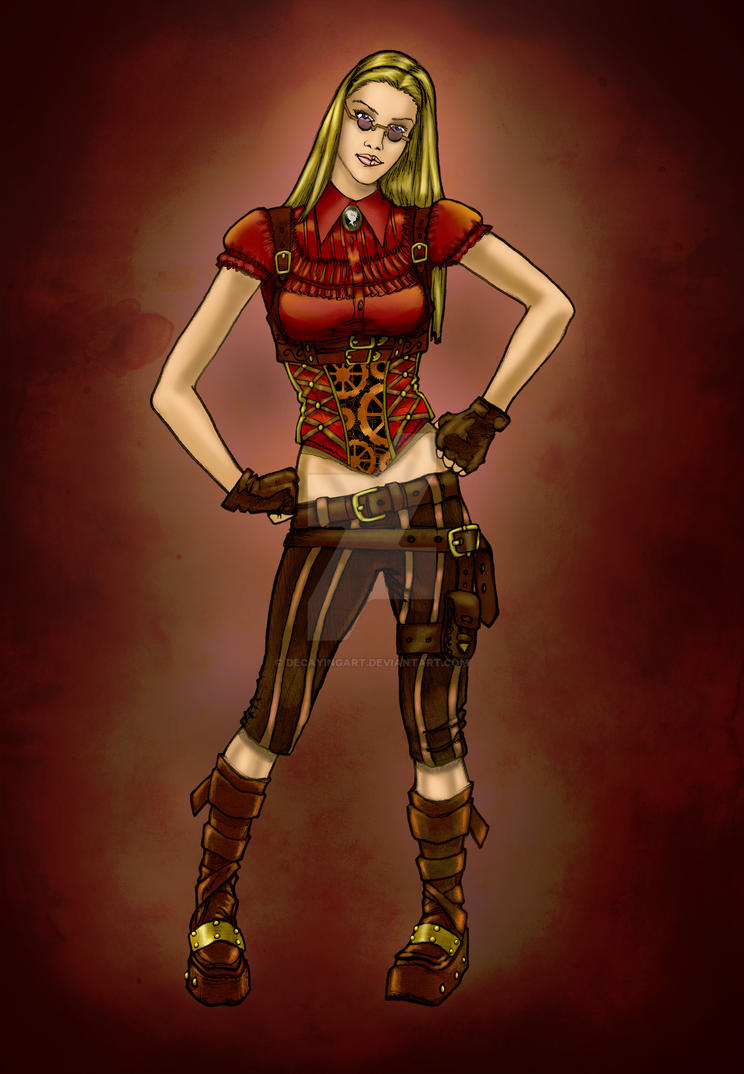 Steampunk Engineer 2 by DecayingArt