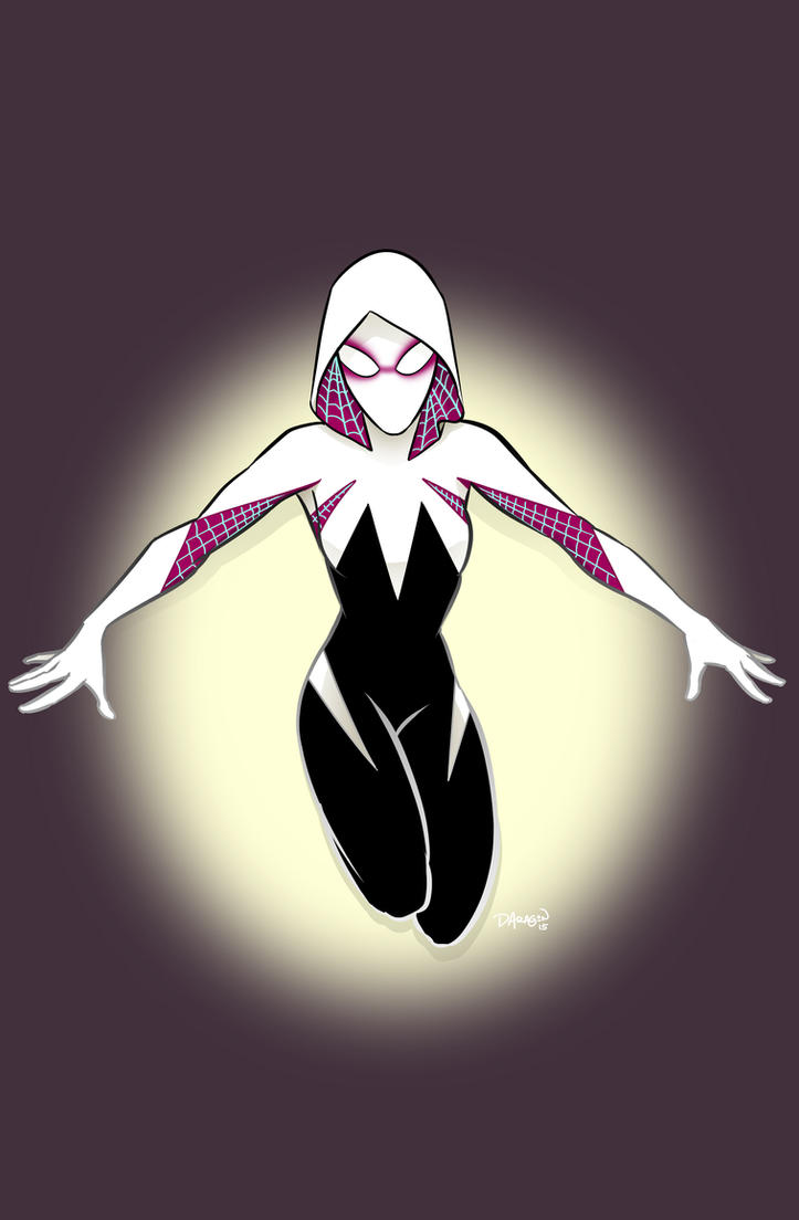 Spider Gwen by DecayingArt