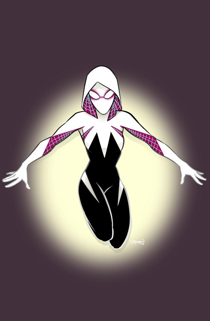Spider Gwen by DecayingArt