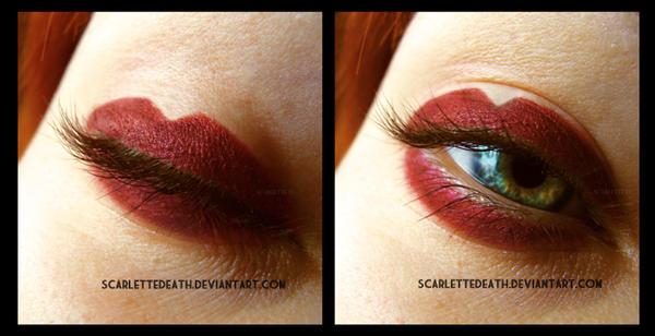 My lips, my eyes... by ScarletteDeath