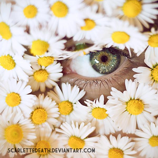 Flower girl by ScarletteDeath