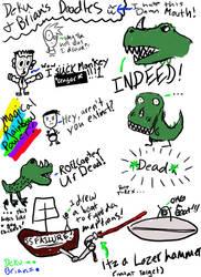 Rawr doodles