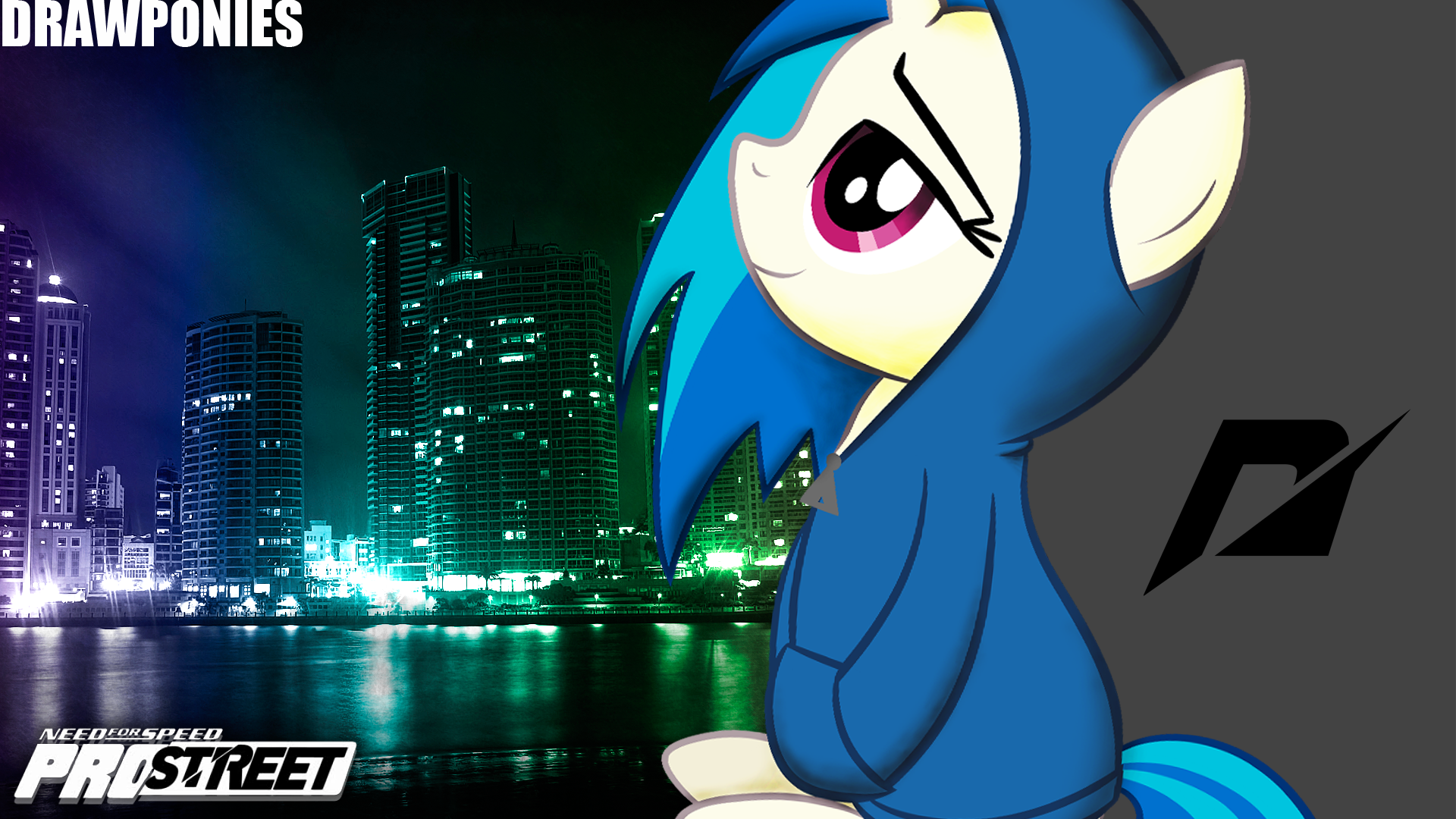 Need For Speed Vinyl Scratch Night By Vaux111 On Deviantart