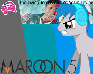 The Living Tombstone VS. Adam Levine by Vaux111