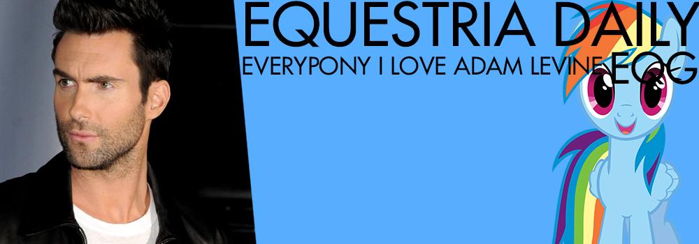 EQD Banner I Love Adam Levine (Of Maroon 5) by Vaux111