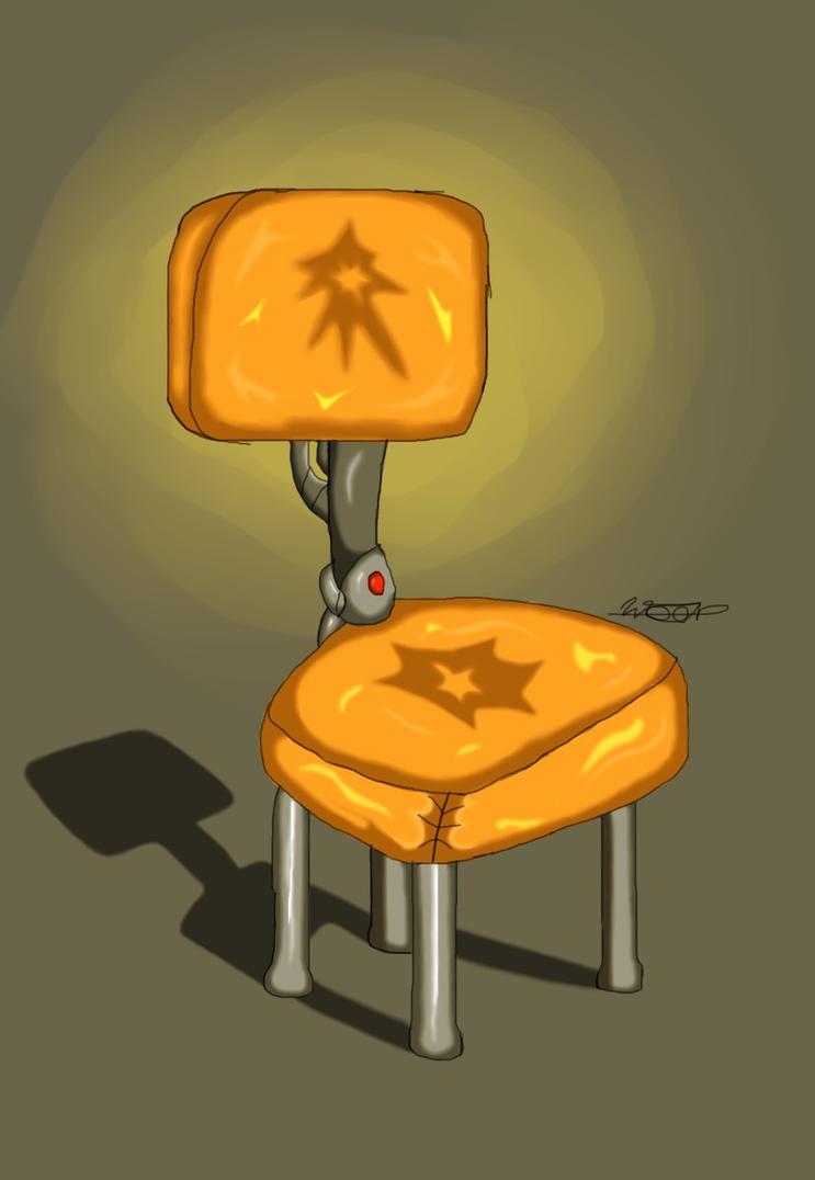 Cadeira De Well by WELL-ArtLOL