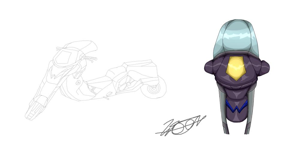W moto frente by WELL-ArtLOL