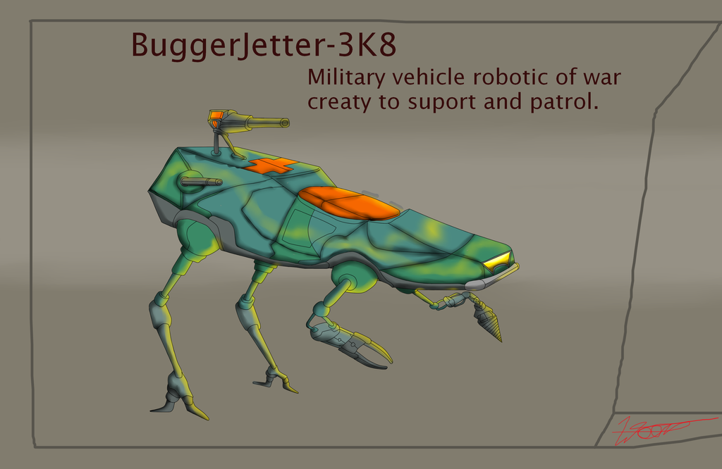 BUGGY JETTER by WELL-ArtLOL