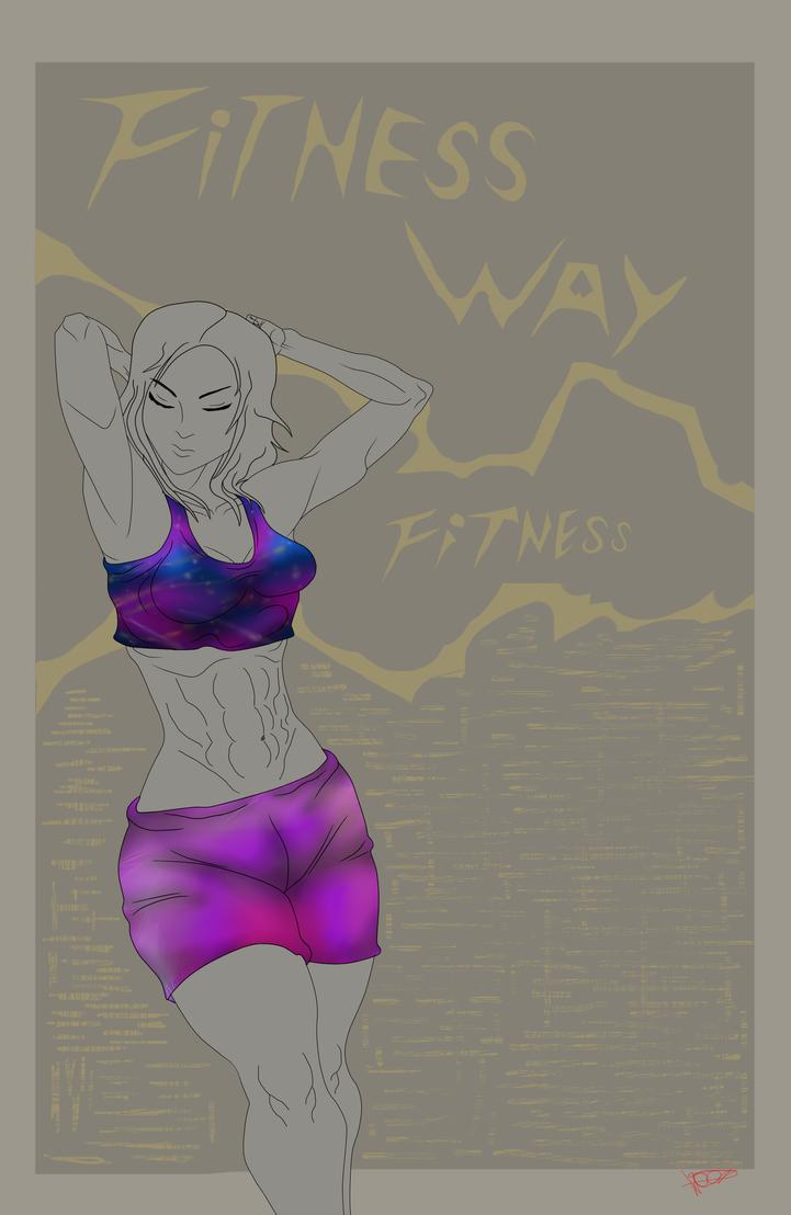 Fitness Way by WELL-ArtLOL