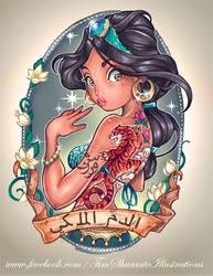 Jasmine by telegrafixs