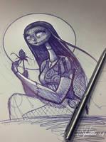 Sally Sketch by telegrafixs