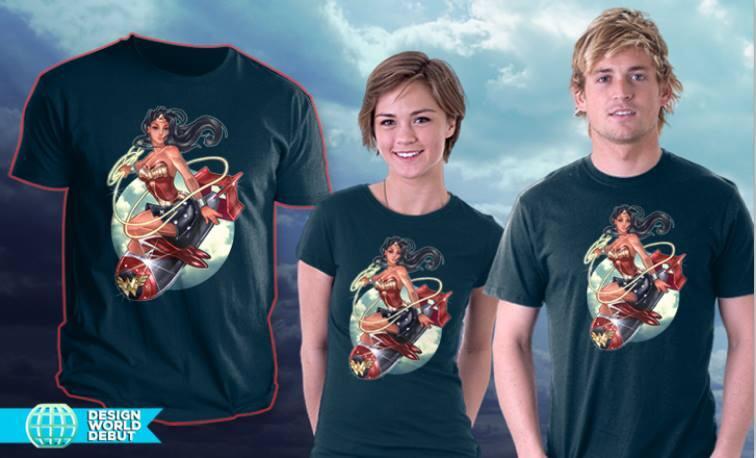 Limited Time WONDERBOMB shirt by telegrafixs
