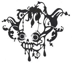 Nouve Skull by telegrafixs