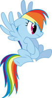 Shocked Rainbow Dash by RedPandaPony