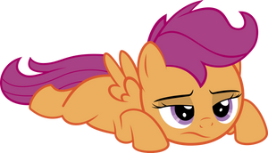 Scootaloo doesn't feel like doing stuff