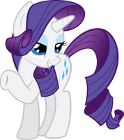 Rarity by RedPandaPony