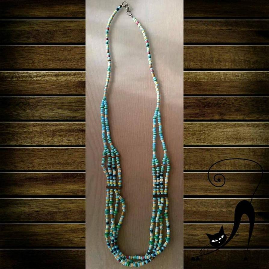 8ec601786 Native American Traditional Inspired Multi-strand by miwemporium92 ...