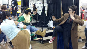 Denver Comicon 2012: The Doctor, Toph and Korra