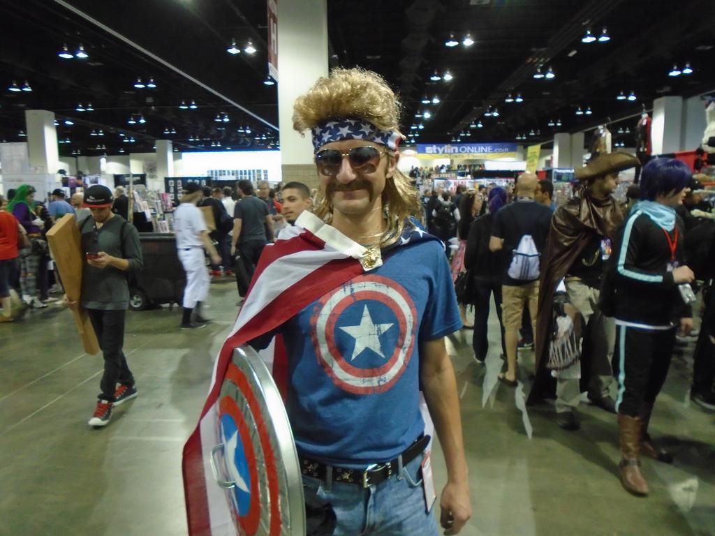 Seventies Captain America by AJTalon