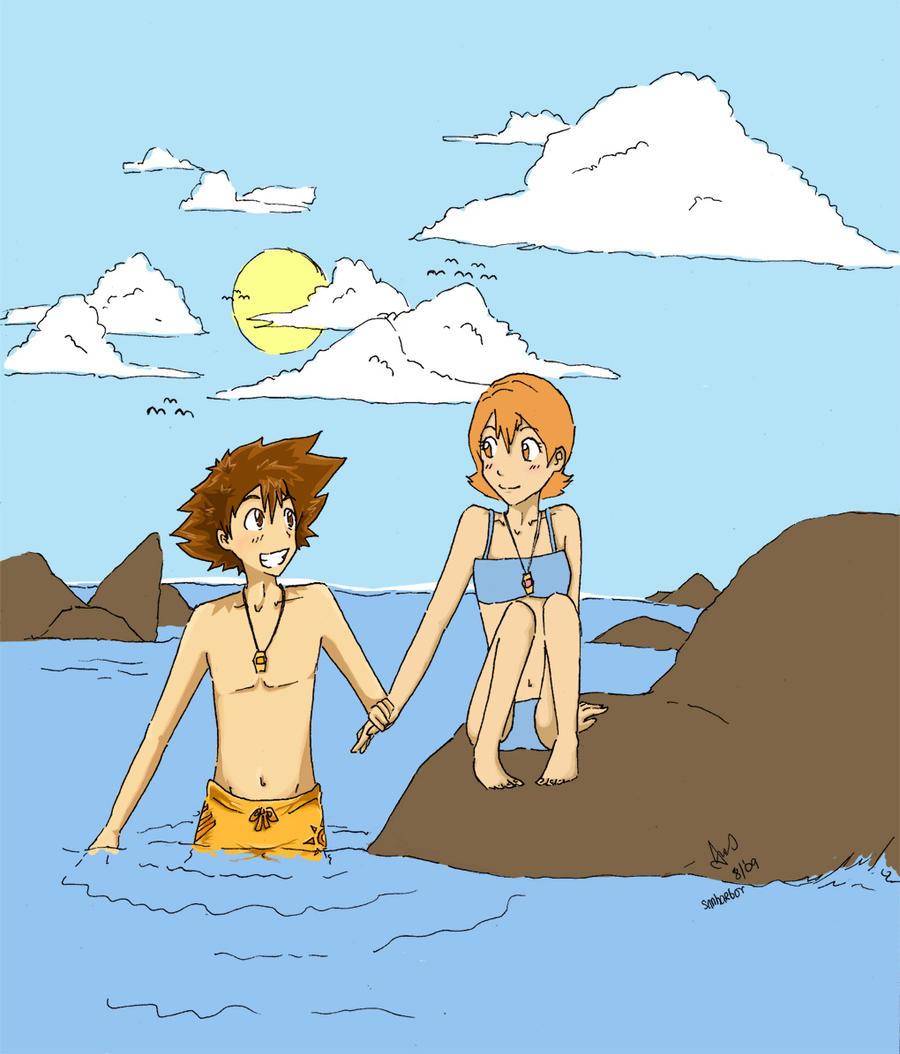 Taiora: Summer Days WIP by Chibi-Kiwi93