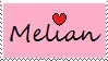 Melian Stamp by MelianMarionette