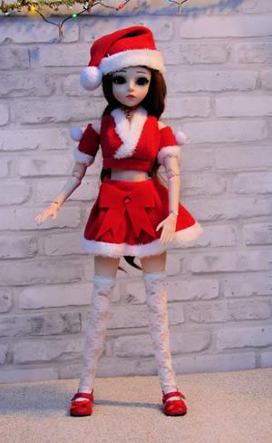 Mirabel with Santa Hat