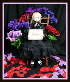 Cecelia Fan Sign For Yutanii with frame