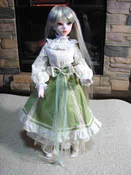 Cindy' New Green Dress 1