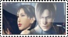 Ada and Leon stamp by Vizzah