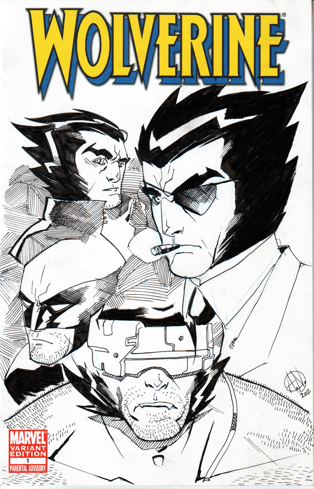 Sketch Cover: Logan by TheAdrianNelson