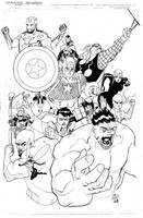 Avengers Print by TheAdrianNelson