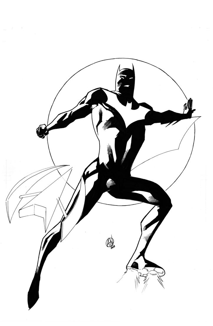 Batman Beyond by TheAdrianNelson