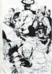 Hellboy Batman