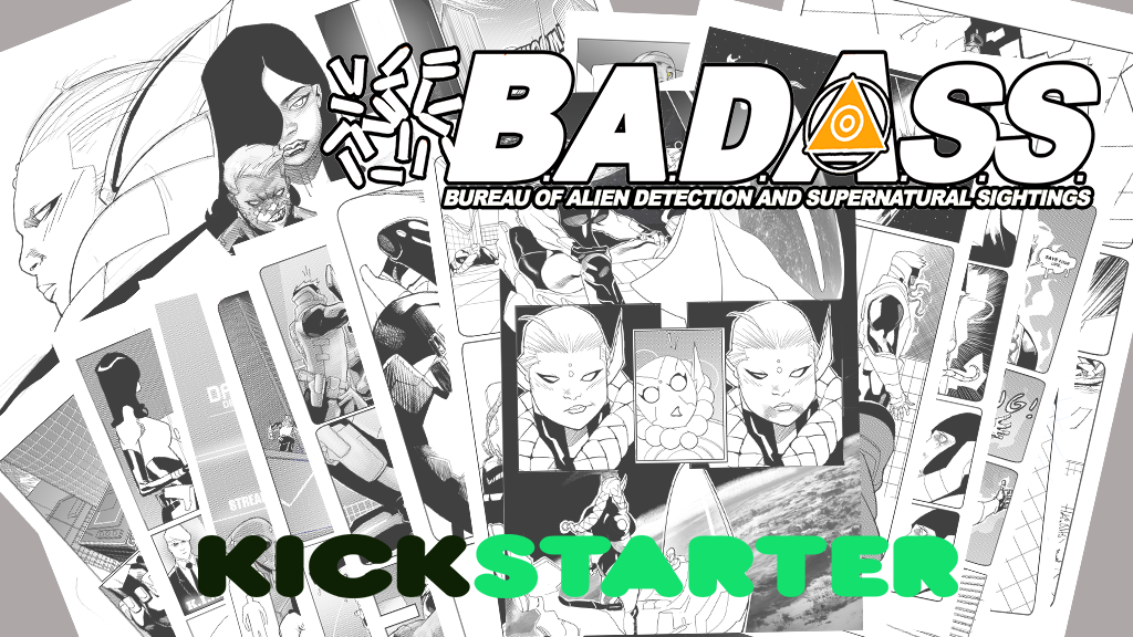 B.A.D.A.S.S.  is live on Kickstarter! by TheAdrianNelson