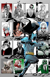 Batman's Rogue's Gallery WIP