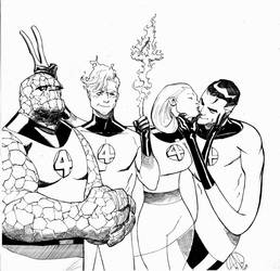 Fantastic Four by TheAdrianNelson