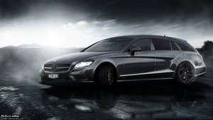 Mercedes-Benz CLS350 Shooting Brake (Drifting) by cobraromania
