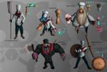 Skins Ideas1 : Iron Chefs