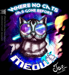 Where No Cats Has Gone Before!!