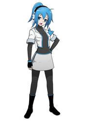 OC Mascot - Miki Tokimiya by Lulech23