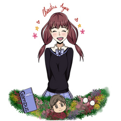 HAPPY BIRTHDAY EMI!! by Natsu-No-Hana