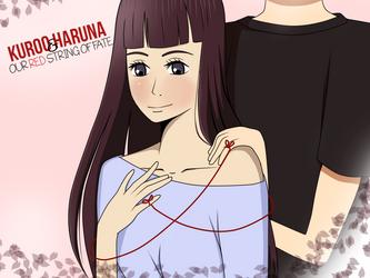 Kuroo and Haruna [HAPPY BIRTHDAY SHIR!!] by Natsu-No-Hana