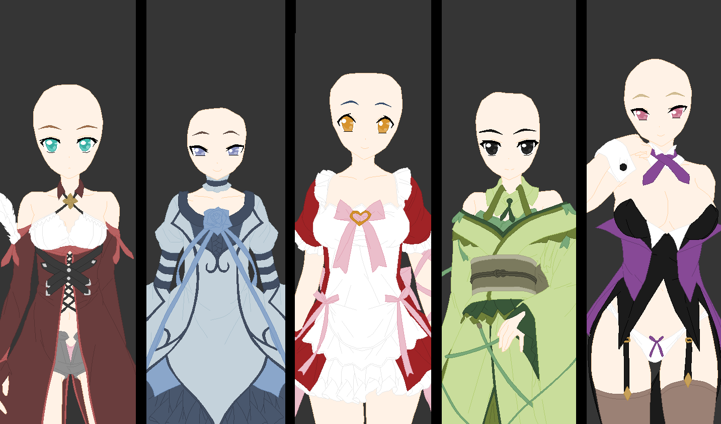 Group Clothed Base by shadowkyohei69 on DeviantArt