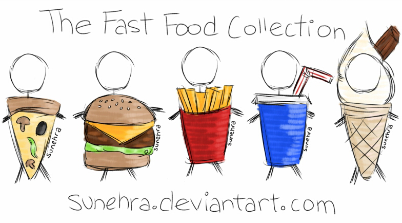 Fast Food Collection by Sunehra