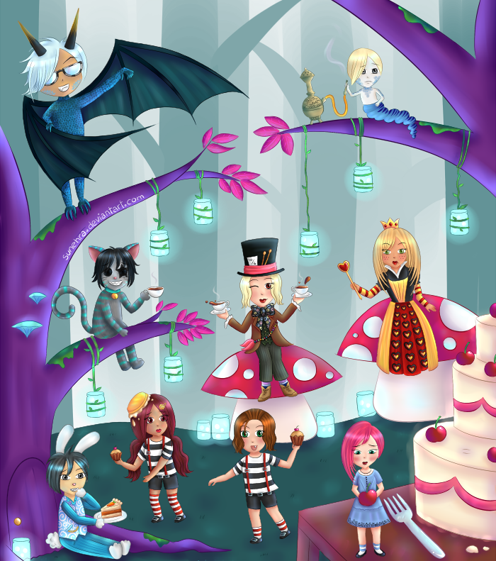 Ooie in Wonderland by Sunehra