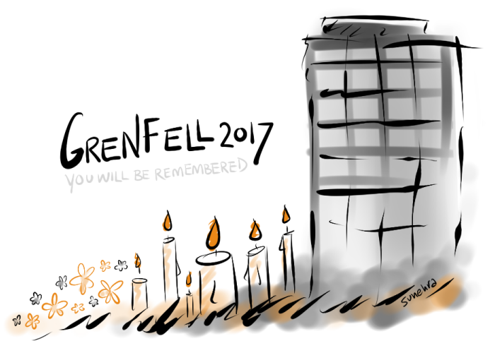 Grenfell by Sunehra