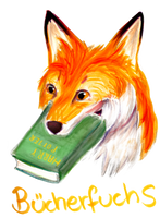 Book Fox by Icewither