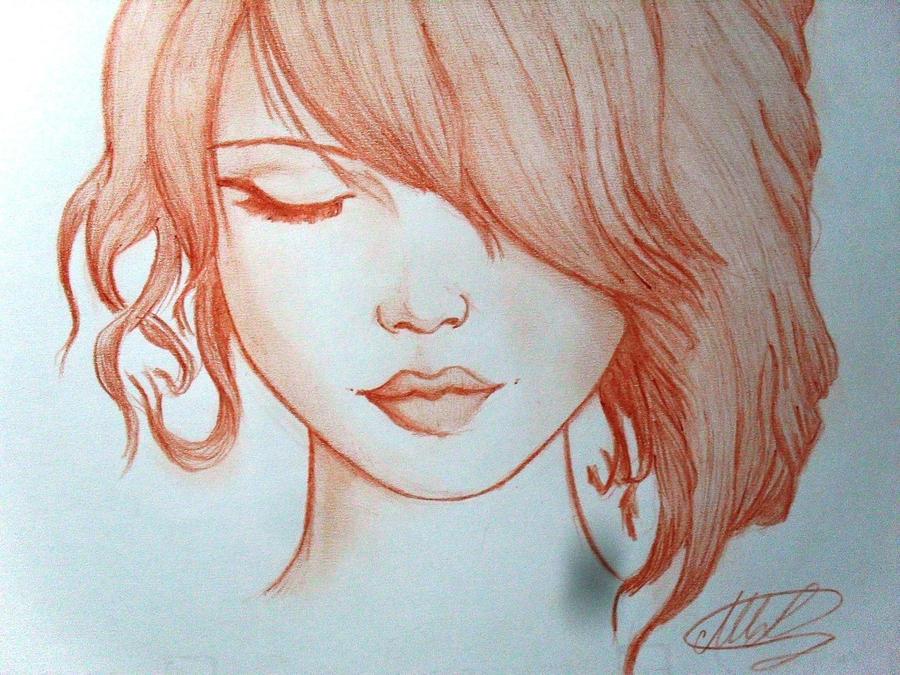 woman in Sanguigna by Maryluworld