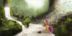 Trough in the Foggy Morn by FuzzyFox11