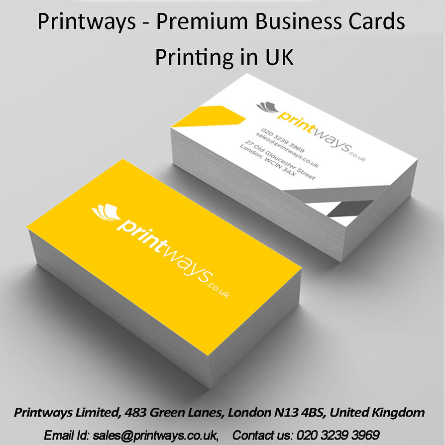 Printways premium business cards printing in uk by printways1 on printways premium business cards printing in uk by reheart Choice Image